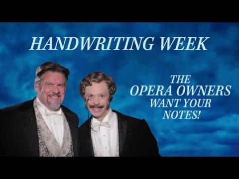 Handwriting Day Sweepstakes