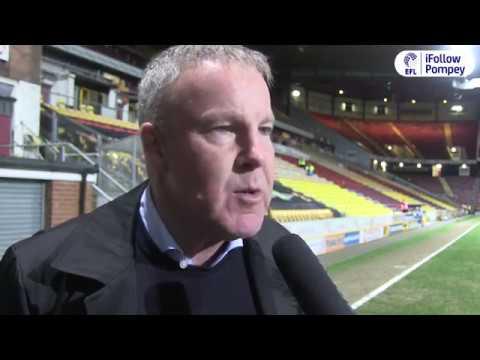Kenny Jackett post-Bradford City