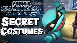 EVERY SECRET COSTUME in Super Smash Bros. Legacy TE 2.0! - Project M – Aaronitmar