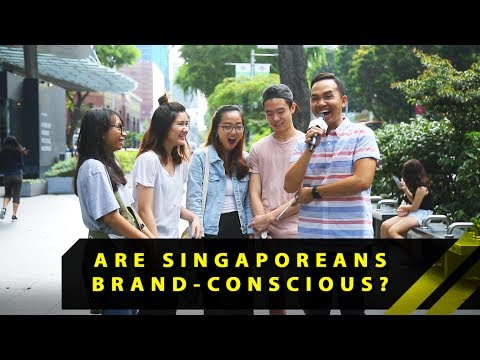 Are Singaporeans Brand-Conscious? | Word On The Street