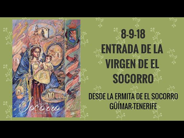 RADIO6TV. 8 de septiembre (2). Entrada de la Virgen de El Socorro a la Ermita.