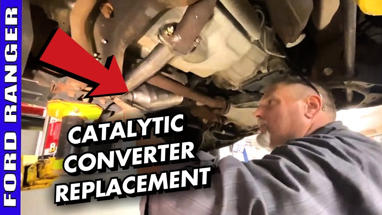 How To Replace Driver Side Catalytic Converter 2007-2011 Ford Ranger 4.0