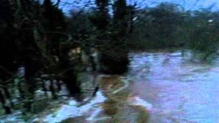Anchor Inn, Exebridge - flooding 22 December 2012