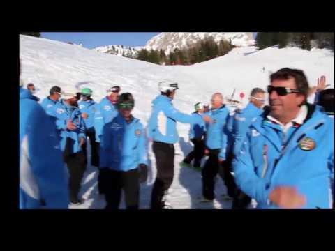 Flashmob Maestri di Sci Trentino