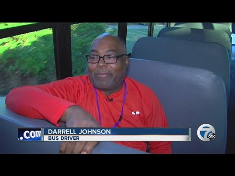 Video shows why some kids call one Bloomfield Hills school bus driver the best bus driver ever!