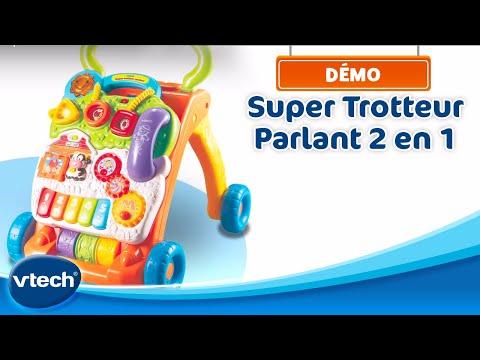 Super Trotteur Parlant 2 En 1 - Les Premiers Pas De Bébé Bien Accompagnés | VTech