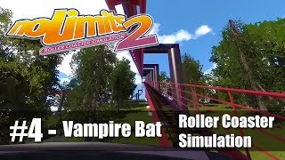 #4 Vampire Bat POV - NoLimits 2 - Roller Coaster Simulation - PC Gameplay 60fps