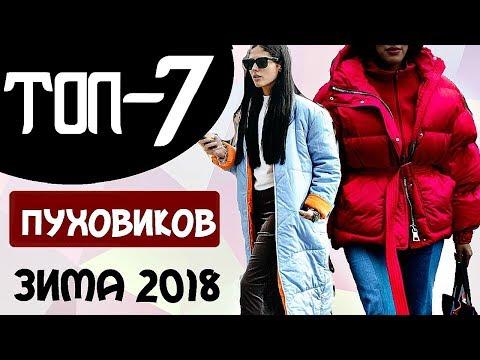 видео: ТОП-7 АКТУАЛЬНЫХ ПУХОВИКОВ НА ЗИМУ 2017- 2018