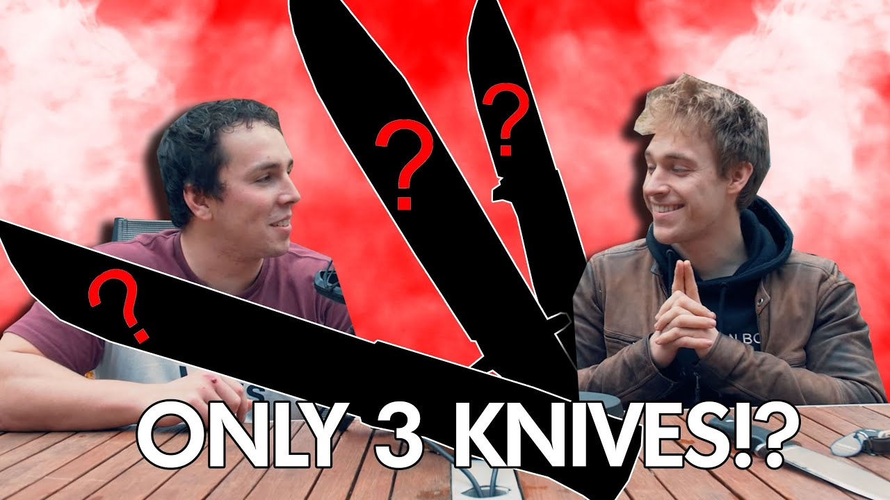 The Only 3 Knives You'll EVER Need | DBK Challenge