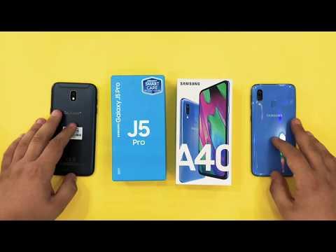 Samsung Galaxy J5 2017 Vs Samsung Galaxy A40