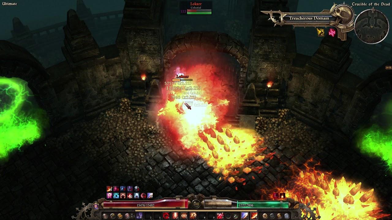 Grim Dawn Fg 1 1 2 2 Dreeg S Evil Eye Warlock Sanctuary Of Horran