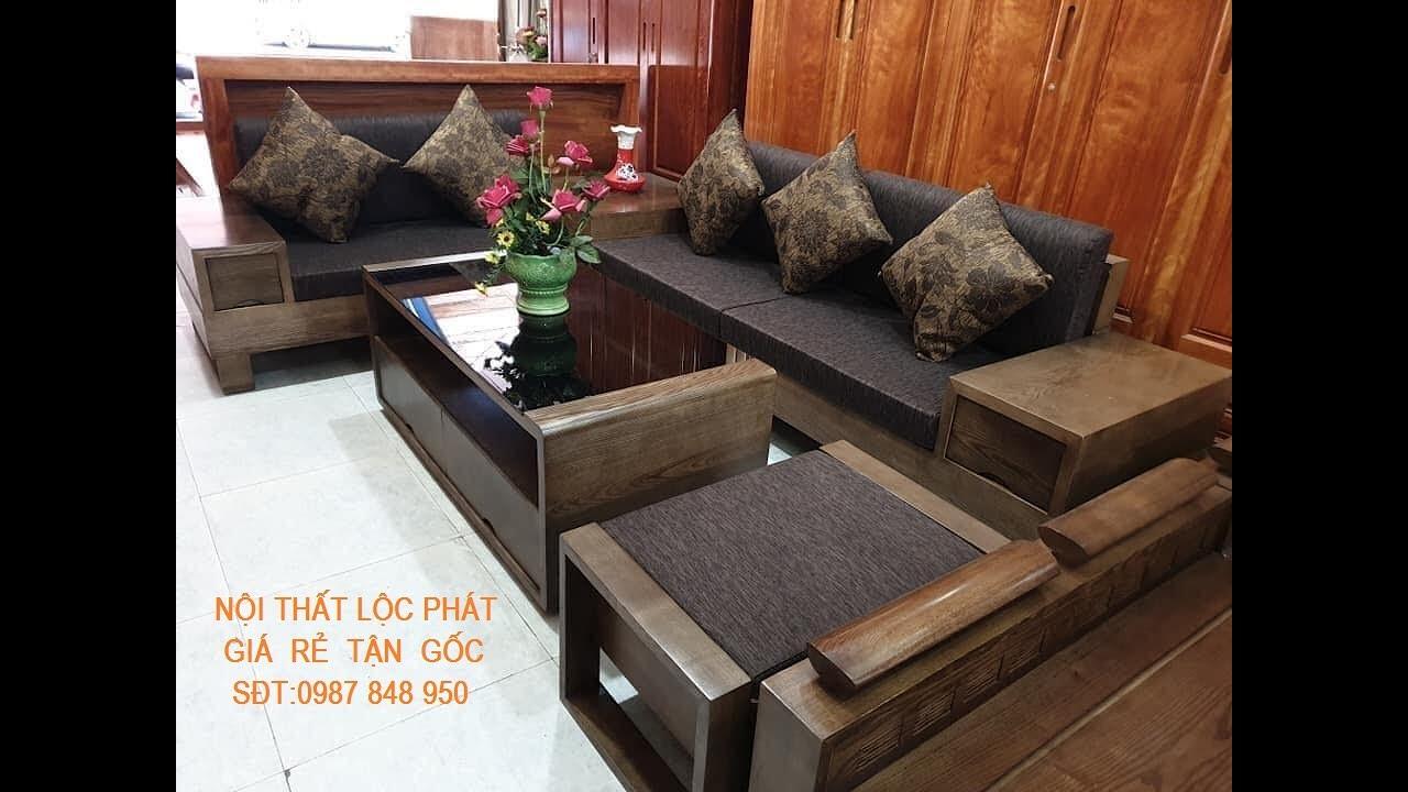 Bàn ghế gỗ đẹp giá rẻ | Mẫu Sofa mới nhất cho phòng khách