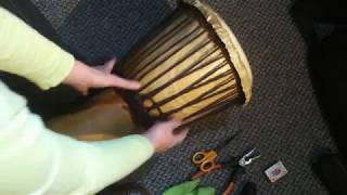 Mali Weave demonstration