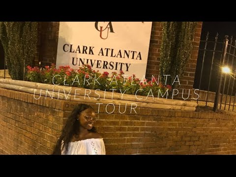 Clark Atlanta University (CAU) CAMPUS TOUR Part 1