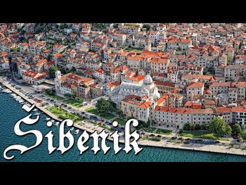 Šibenik, Croatia - Postcard and impression