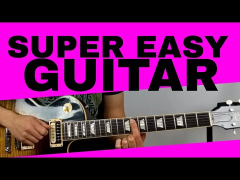 Super Easy Electric Guitar Songs For Beginners Part 3
