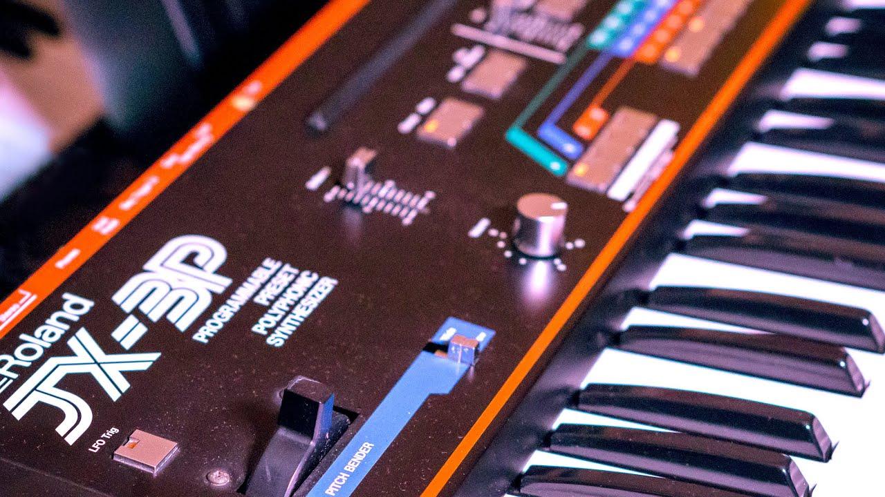 Roland JX-3P | A Fantastic Classic!