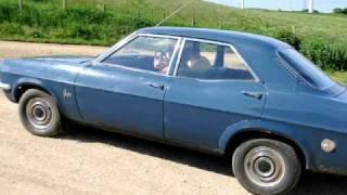 1968 Eclipse Blue Vauxhall Victor FD 2000