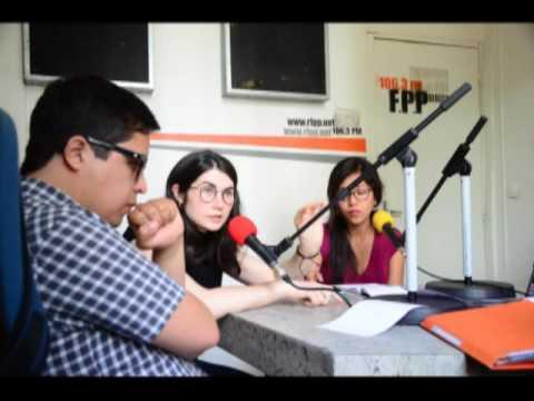 Entrevista radio FPP Ni una menos Paris-Francia