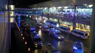 Istanbul  airport attack footage 41 dead  100's injured 29th June 2016