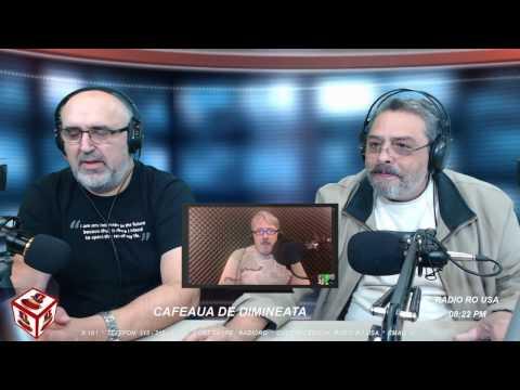 Radio RO USA - Cafeaua de Dimineata - 10.29.2016 - Invitat, Sergiu Cioiu