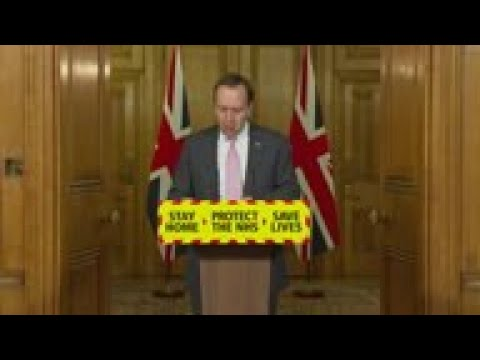 UK health minister on virus variants and vaccines - AP Archive