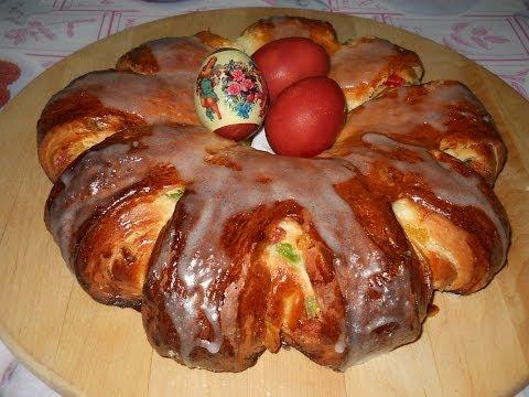 Пирог Пасхальный венок. Рецепт