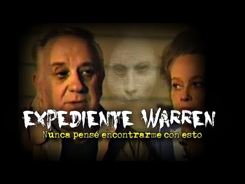 EXPEDIENTE WARREN | El inquietante ser de blanco