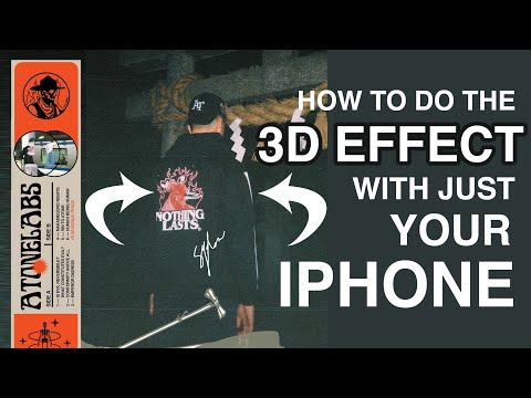 HOW TO: 3D GIF PHOTOS WITH JUST IPHONE (No Film Camera)