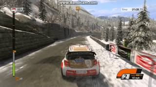WRC 4 2013 Col de Turini Single Stage PC Gameplay