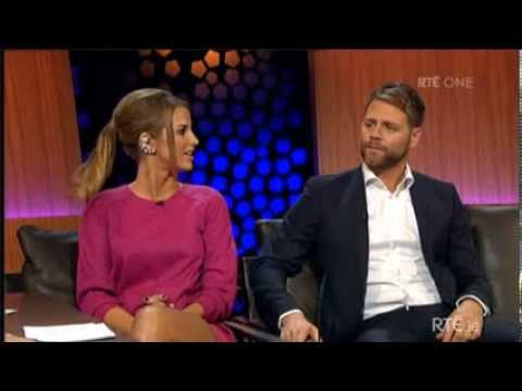 Brian McFadden & Vogue Williams interview on The Late Late Show