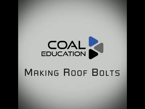 Making Roof Bolts