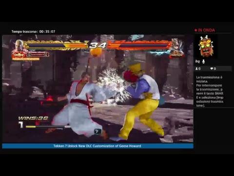 Tekken 7 Unlock Dlc Customization Of Geese Howard Youtube