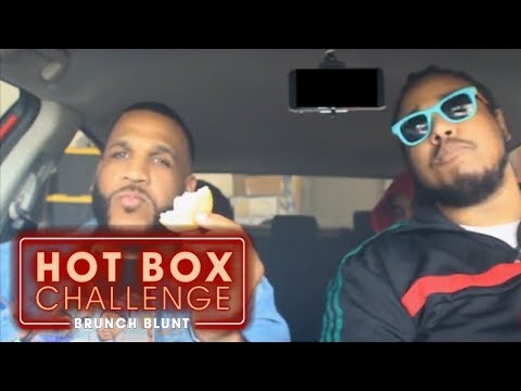 Popeye's Biscuit Challenge ft. Shoreline Mafia | Hot Box Challenge