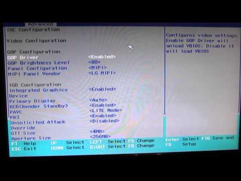NexBox T11 Mini PC BIOS Settings - YouTube