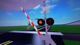 Attraversamento ferroviario Safetran E Bell su entrambi i lati ROBLOX