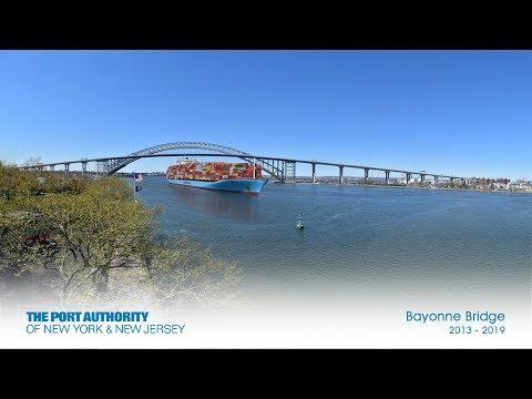 Bayonne Bridge Construction Time-Lapse