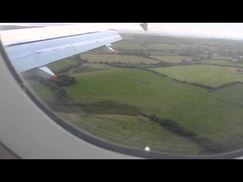 Landing at Shannon Airport