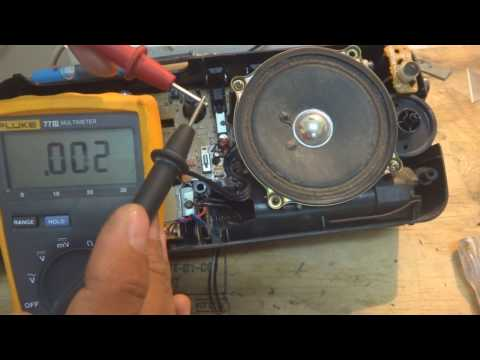 Stereo repair ; Audio repair; Radio repair at home easily; Learn Electronics part 1