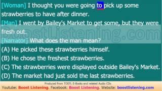 Boost Listening - TOEFL Listening Lesson 237