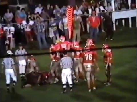 1990 Wagoner Bulldogs at Stilwell Indians Football