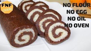 ময়দা,ডিম,তেল ছাড়ায় যে মজাদার কেক বানানো যায়,সেটা জানেন কি? Swiss roll recipe | Cake recipe bangla