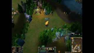 League of Legends How to Play Udyr Jungle Full Gameplay Commentary #1