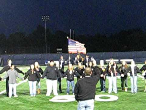 Menomonie 2009 Homecoming  National Anthem
