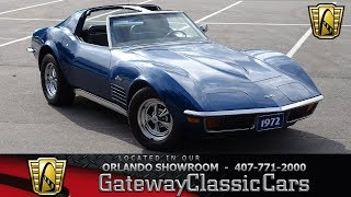 1972 Chevrolet Corvette Gateway Orlando #1290