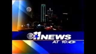 KTVT CBS 11 News at 10:00 Open (2005)