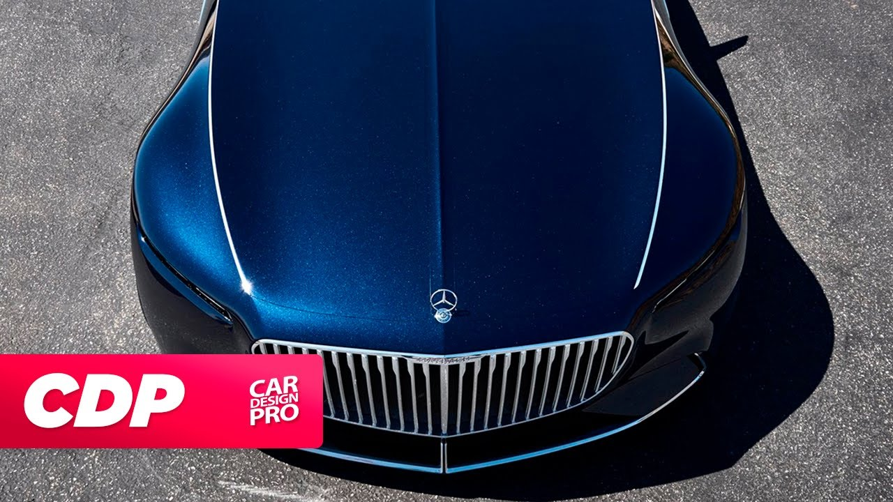 New Mercedes Benz Maybach Vision 6 Cabriolet 2018 The Design Youtube