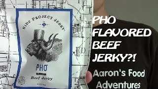Side Project Jerky Pho Beef Jerky | Spicochist Reviews