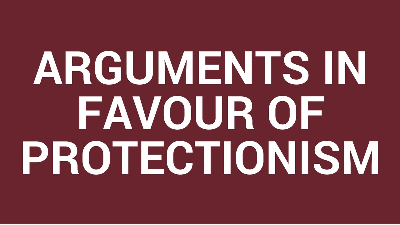 an analysis of the arguments in favor and against the lowering of the rate of protectionism in austr Top ten arguments for raising the minimum wage special tax breaks for hedge fund managers allow them to pay only 15% tax rate expert analysis.