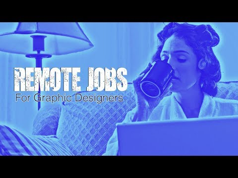 🔴Remote Graphic Design Jobs for graphic designers